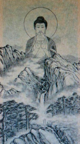 Amitabha Buddha, in Prayer and Meditation, 1978