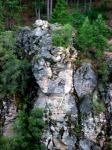 sedimentry cliff near Siskiyou dam